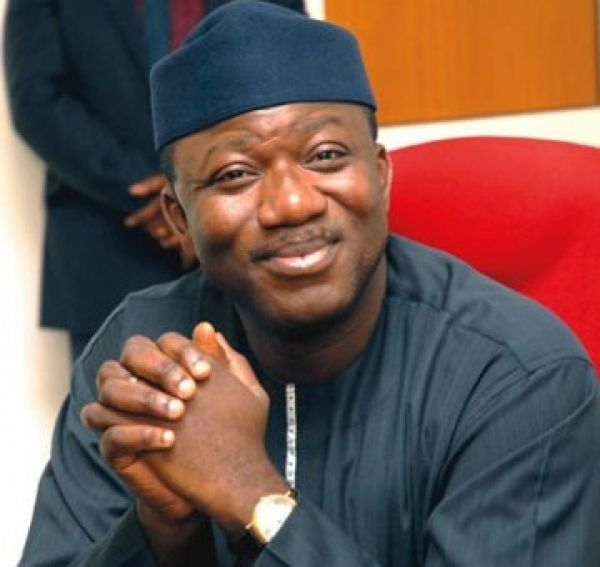 •Minister of Mines and Steel Development, Kayode Fayemi
