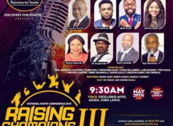 Lagos mega youth conference to hold on Democracy Day