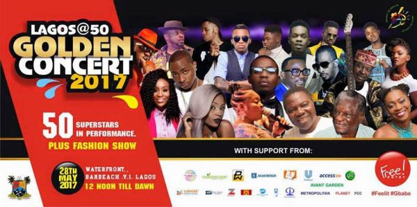 All set for musical fireworks to climax Lagos golden jubilee celebrations