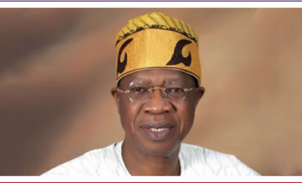 •Information and Culture Minister Lai Mohammed.
