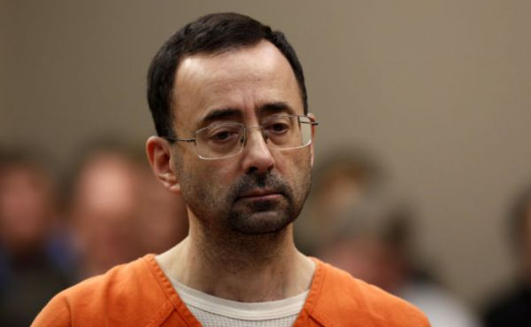 •Disgraced former sports doctor Larry Nassar