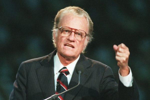 •Late famous Evangelist Billy Graham