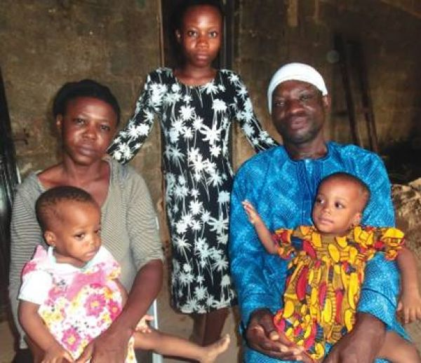 •Late Pastor Anthony Olawale and family