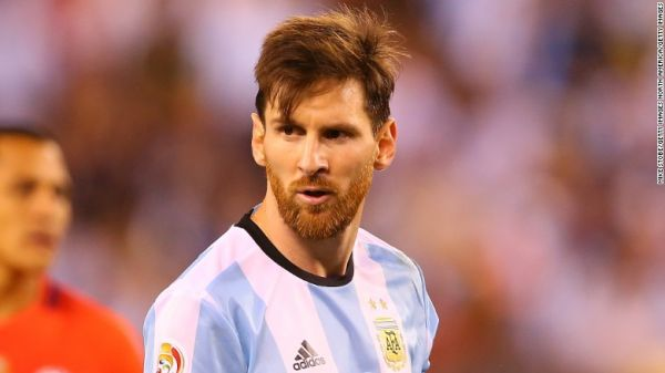 •Soccer star Lionel Messi
