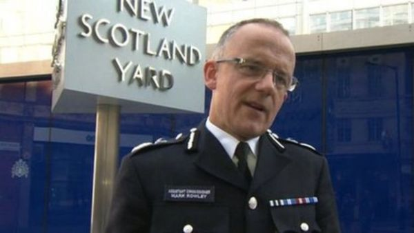 •London Police chief Mark Rowley.