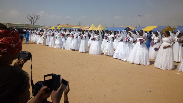 80 couples wed in style near Abuja