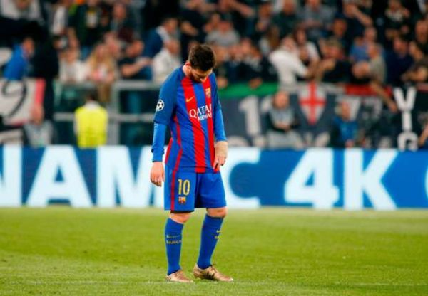 •Barca talisman Messi could hardly believe what happened last night.