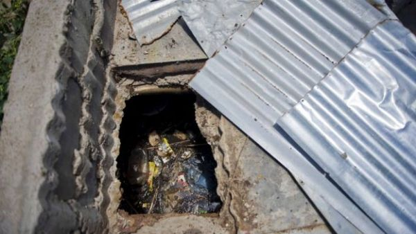 •Michal Komape died in this pit latrine at Mahlodumela Lower Primary School