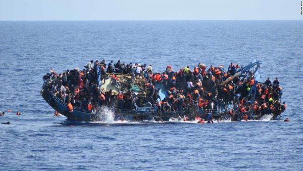 23 Europe-bound migrants feared drowned in boat mishap