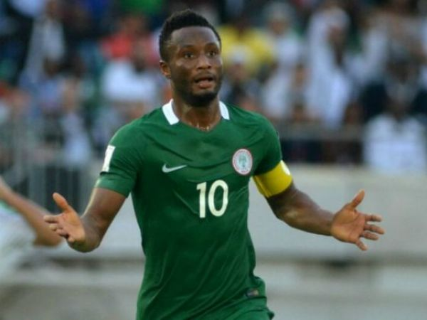 •Super Eagles Captain Mikel Obi