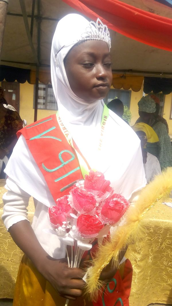 Miss Dolapo Makunjuola, the 2017 Miss Virginity.