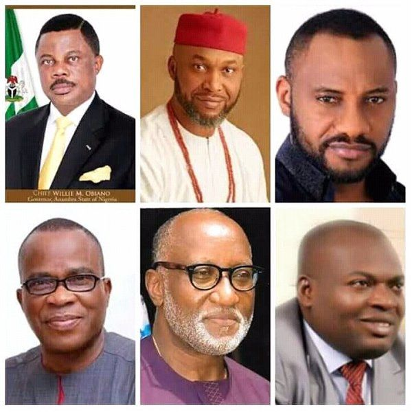 •Some of the 2017 Anambra governorship candidates