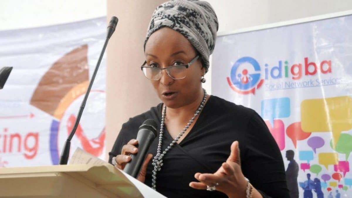 •Presidential Aide on SIPs Maryam Uwais