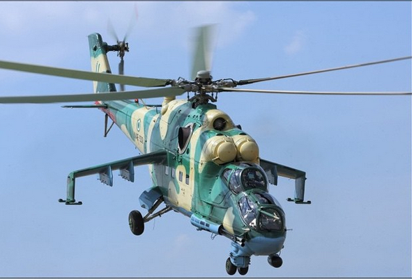 • Nigeria Airforce Helicopter