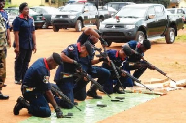 •NSCDC operatives