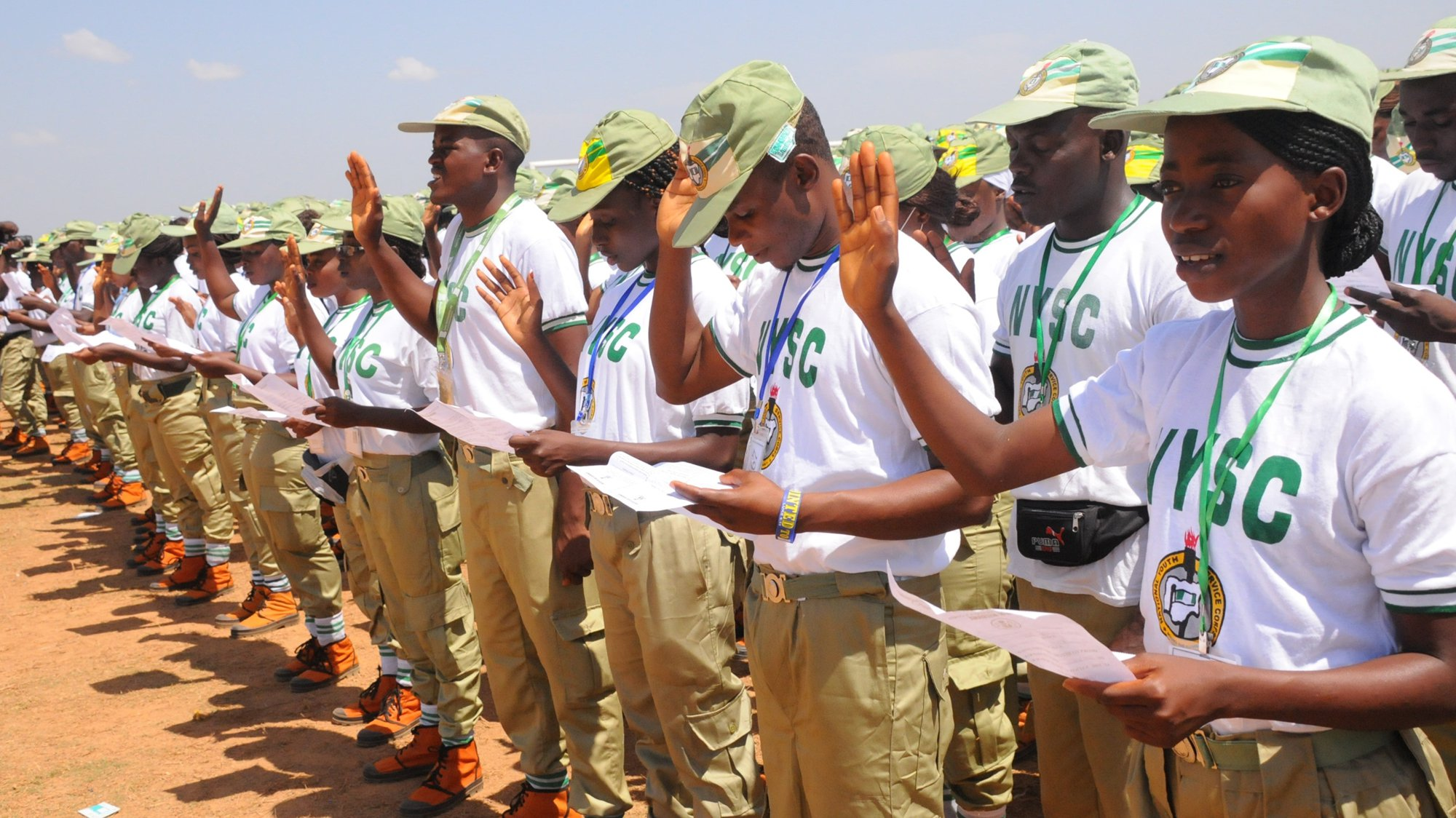 •A cross section of corps members