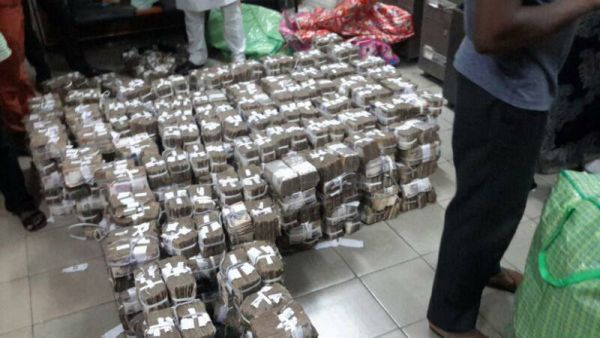 efcc discovers n448m cash in lagos shop news news express nigeria. Black Bedroom Furniture Sets. Home Design Ideas