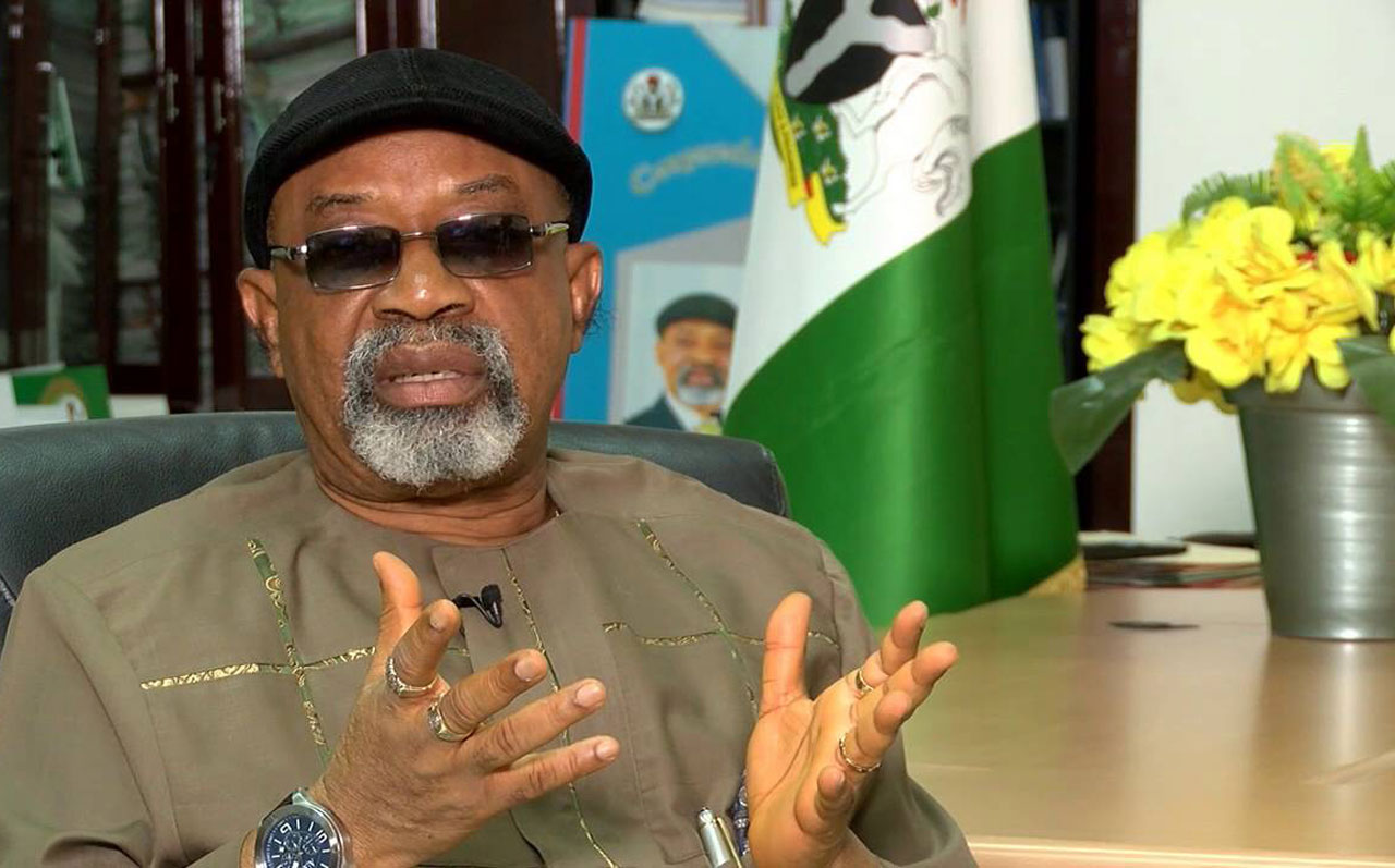 •Minister of Labour and Employment Chris Ngige