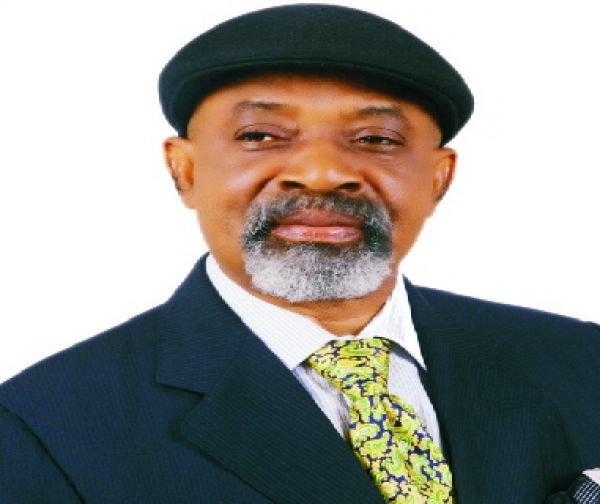 •Minister of Labour and Employment, Dr. Chris Ngige