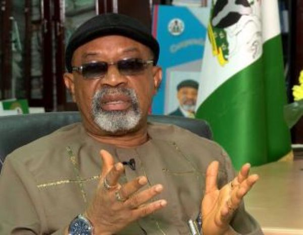 •Labour Minister Chris Ngige