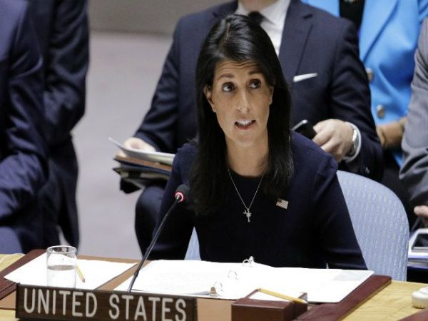 Russia may attack US with chemical weapons: Ambassador Haley