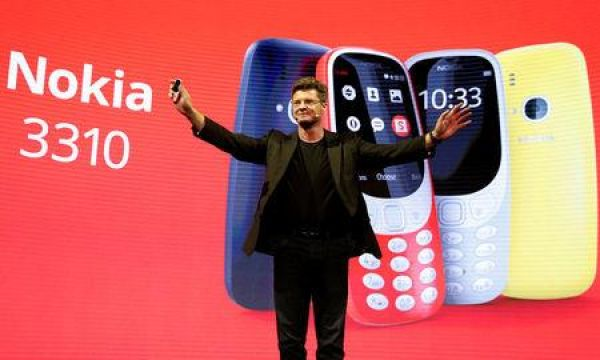 •Unveiling of the brand new Nokia 3310.