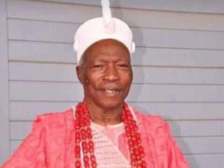 Image result for Prince Omoniyi Ademola Stabbed Oba Gbadebo Ogunsaki To Death For Refusing To Die