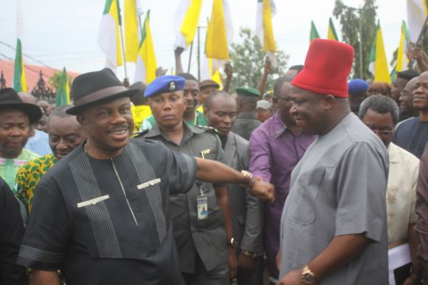 •Governor Obiano and Sir Victor Umeh
