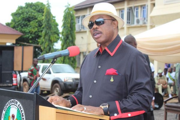 Obiano swears in 21 Anambra transition chairmen and councillors