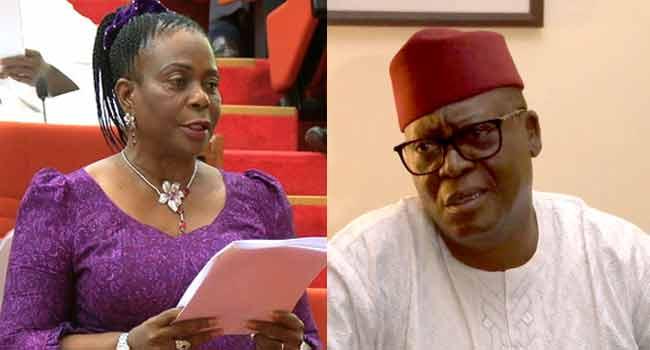 •Sen. Adeyeye, APC (out) and Sen. Olujimi, PDP (in)