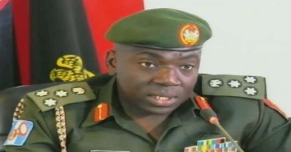 •Operation LAFIYA DOLE Theatre Commander, Maj.-Gen. Ibrahim Attahiru