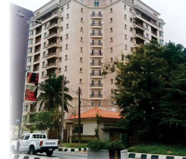•Osborne Towers in Ikoyi, Lagos