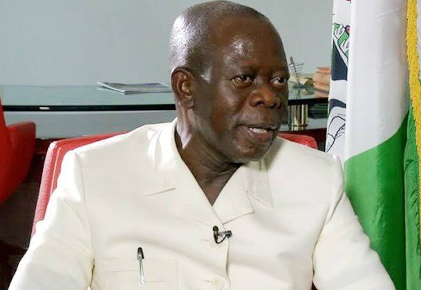 •APC National Chairman Comrade Oshiomhole