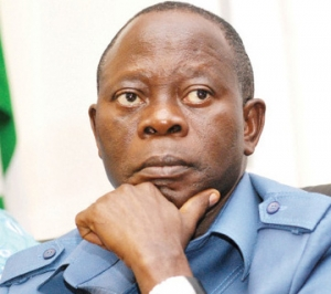 •APC National Chairman, Oshiomhole