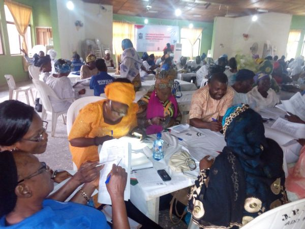 •A cross section of participants during the training programme in Osun