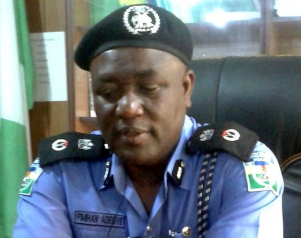 •Osun Police Commissioner Fimihan Adeoye