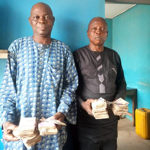 Vote buying: Police arrests 2 PDP agents with cash