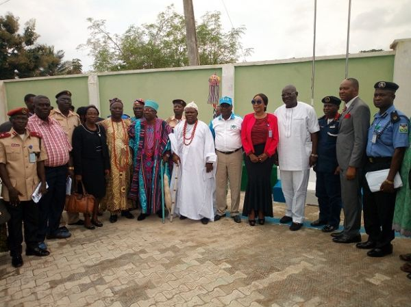 •A cross section of dignitaries at the event.