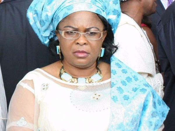 •Ex-First Lady Patience Jonathan