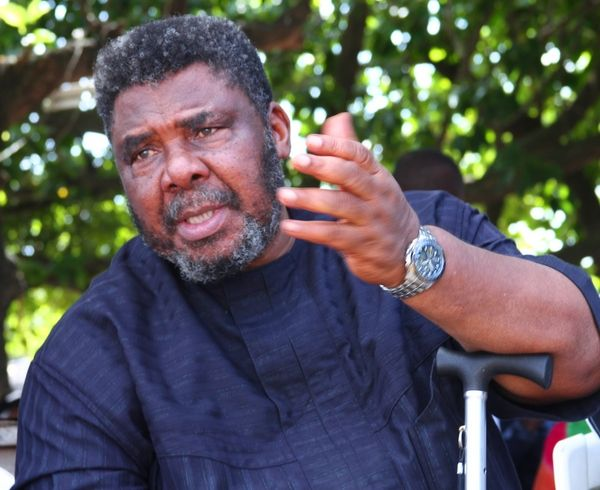 •Nollywood legend Pete Edochie