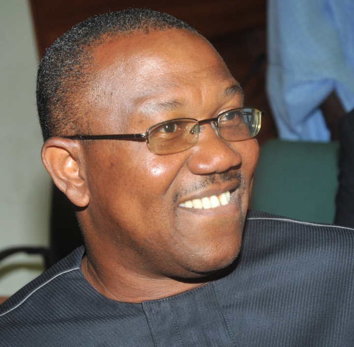 •Ex-Anambra Governor Peter Obi