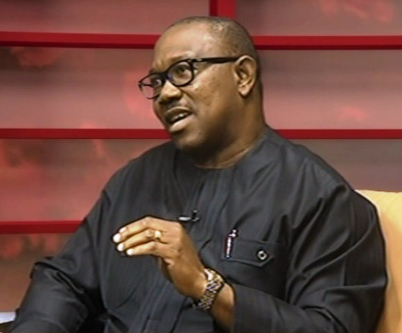 •PDP VP Candidate, Peter Obi