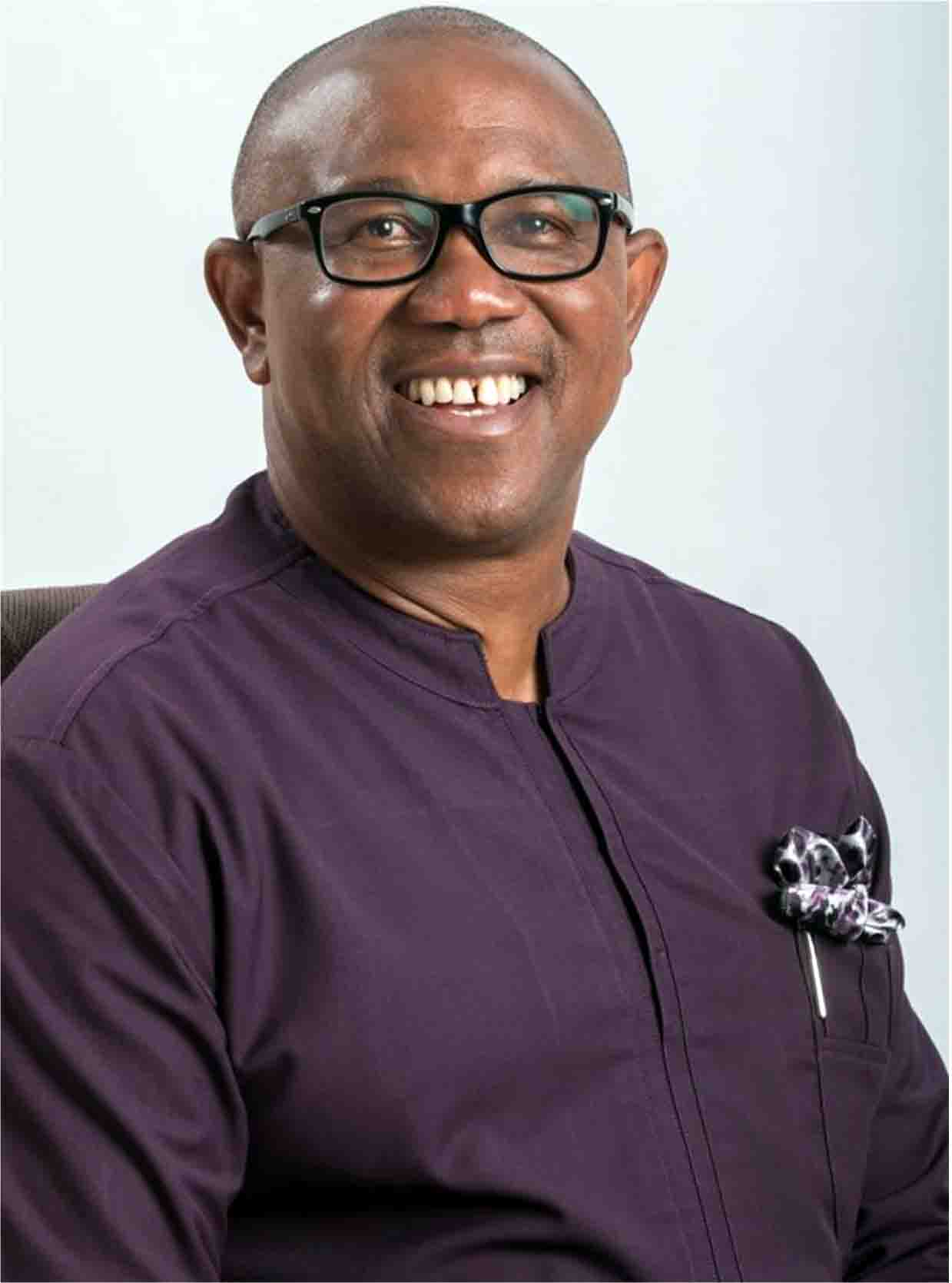 •Ex-Governor Peter Obi