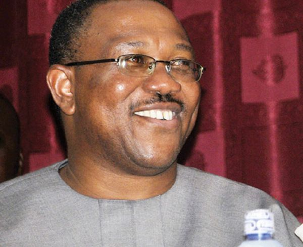 •Ex-Governor Peter Obi.