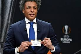 •Pierre van Hooijdonk, ex Dutch striker pulled Arsenal's name out of the hat