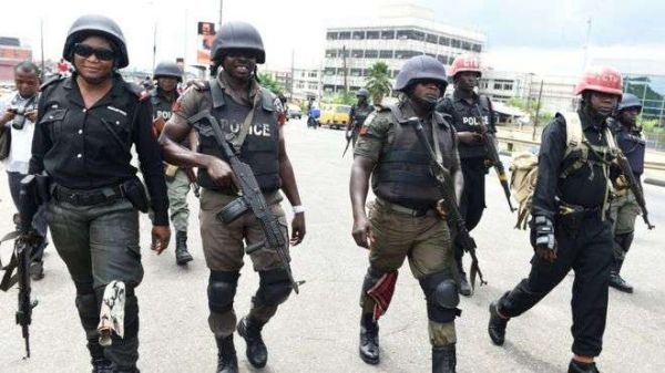 •Nigeria police operatives