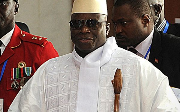 Jammeh gets African Union red card