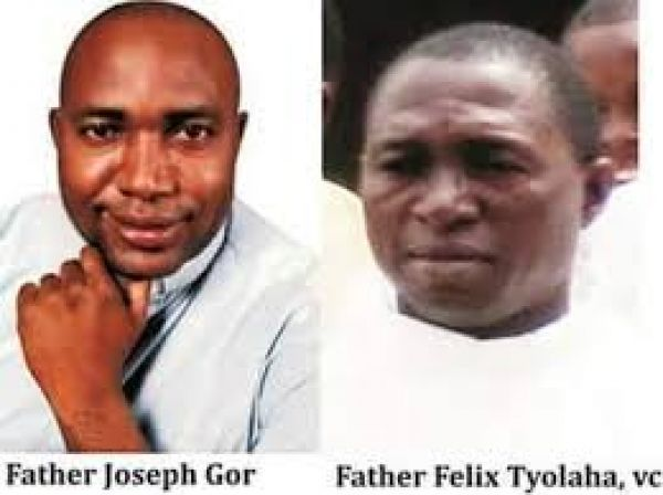 •The murdered Rev Fathers Joseph Gor and Felix Tyolaha