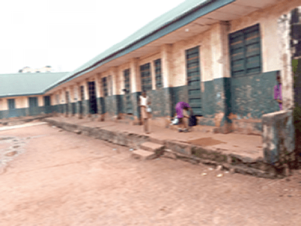 •Deserted primary school in Enugu