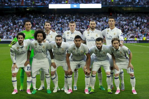 •Real Madrid team